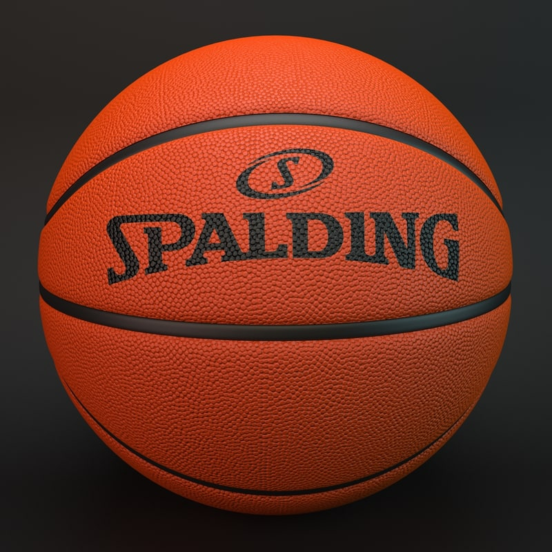 3d basketball spalding - Spalding basketball images ...