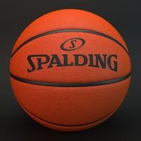 3d basketball spalding