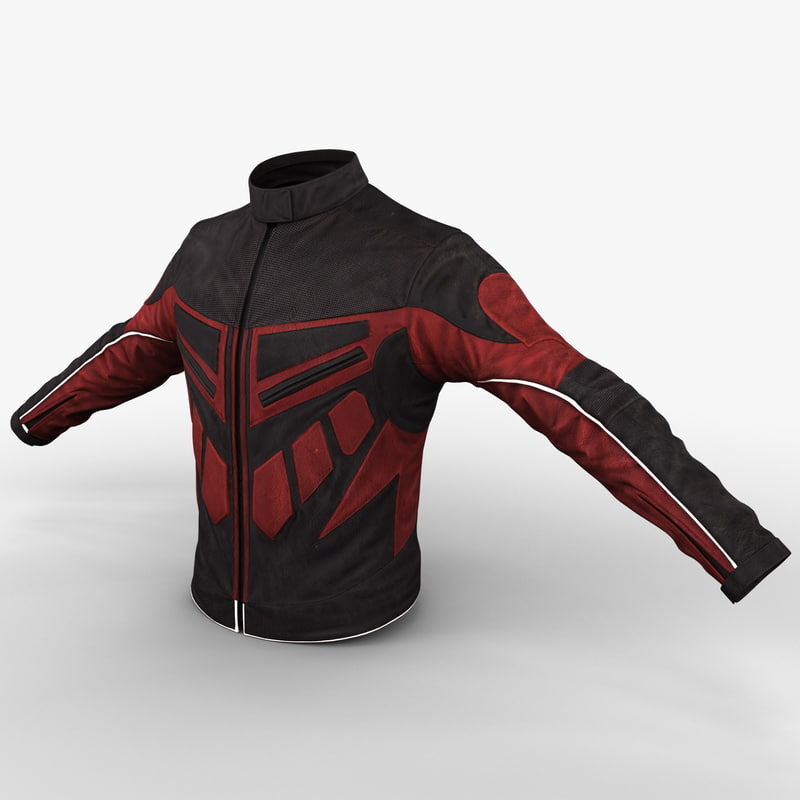3ds max motorcycle jacket