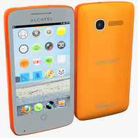 Alcatel One Touch Fire Orange