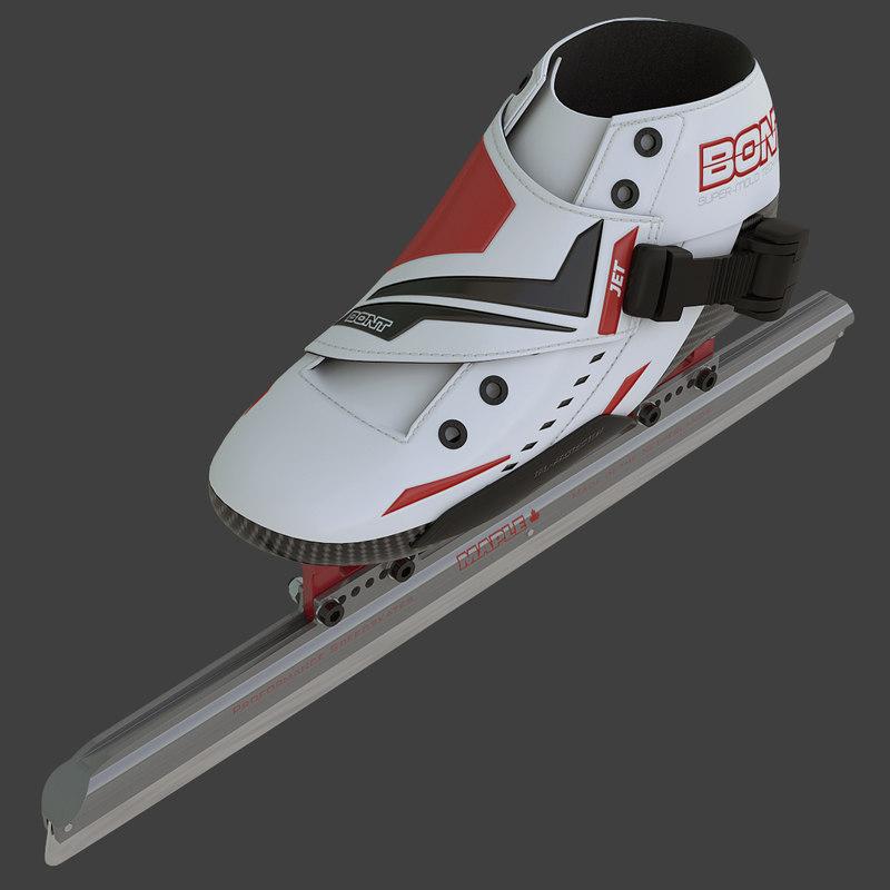 3d max bont jet short track