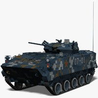 airborne fighting vehicle china obj