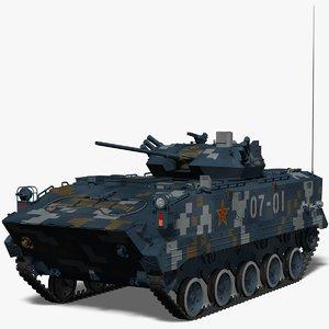 airborne fighting vehicle china obj