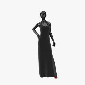 showroom mannequin 03 3d 3ds
