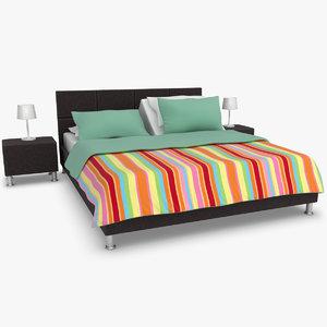 karina adjustable bed brown 3ds