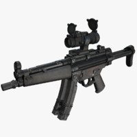 MP5 Submachine Gun