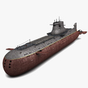 submersible 3D models