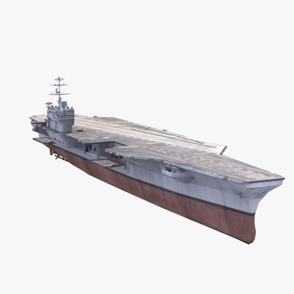 uss harry s truman 3d max