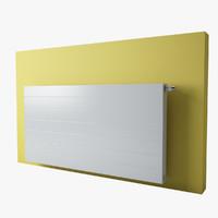 3d model integra rodson ramo radiator