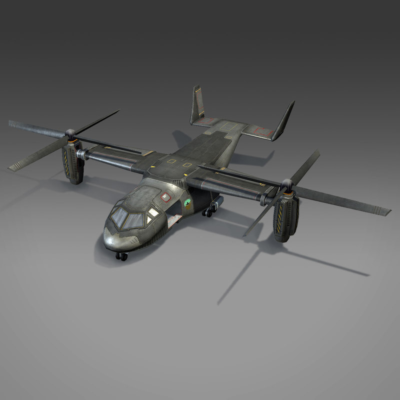 max low- sci-fi aircraft