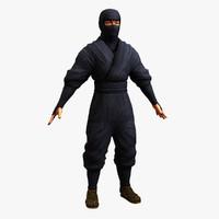 fbx ninja human