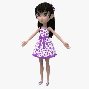 3d cartoon model