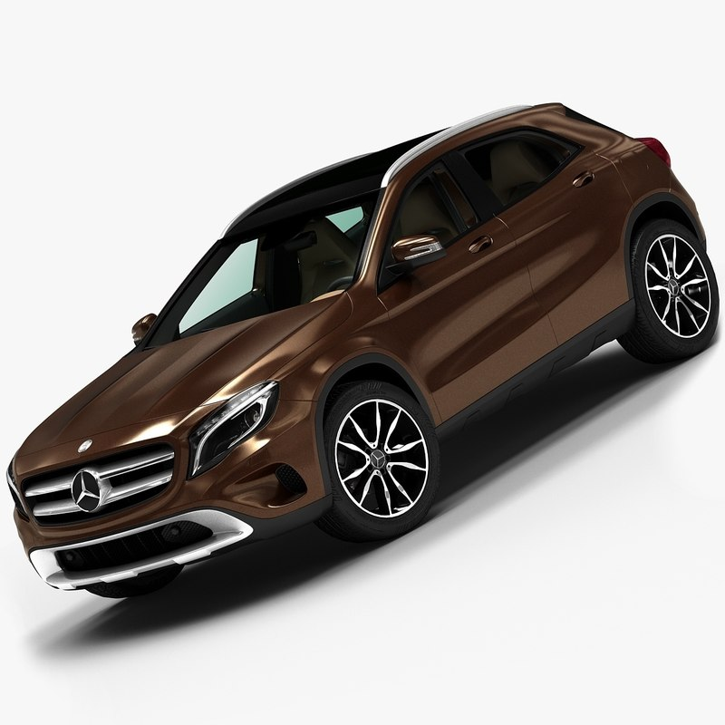 2015 mercedes-benz gla 3d model