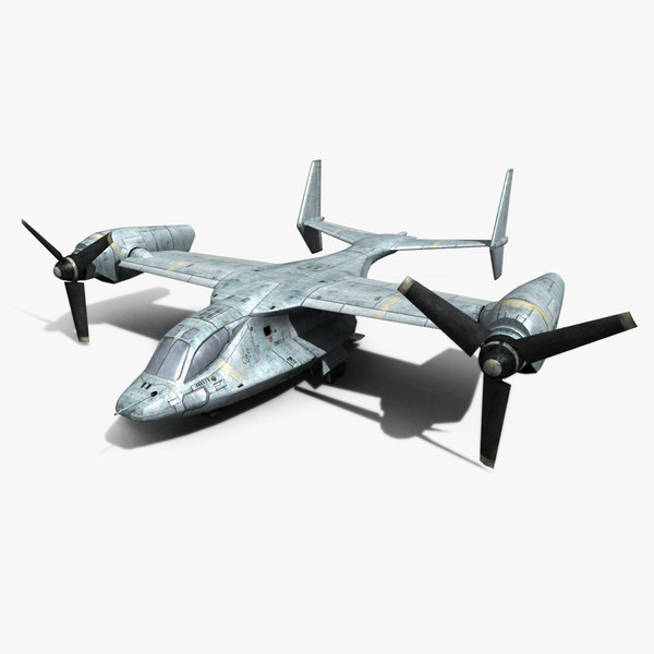 3ds max low- future aircraft