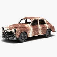 Destroyed Car 2