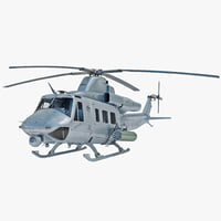 3d model of bell uh-1y venom helicopter
