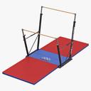 gymnastics 3D models