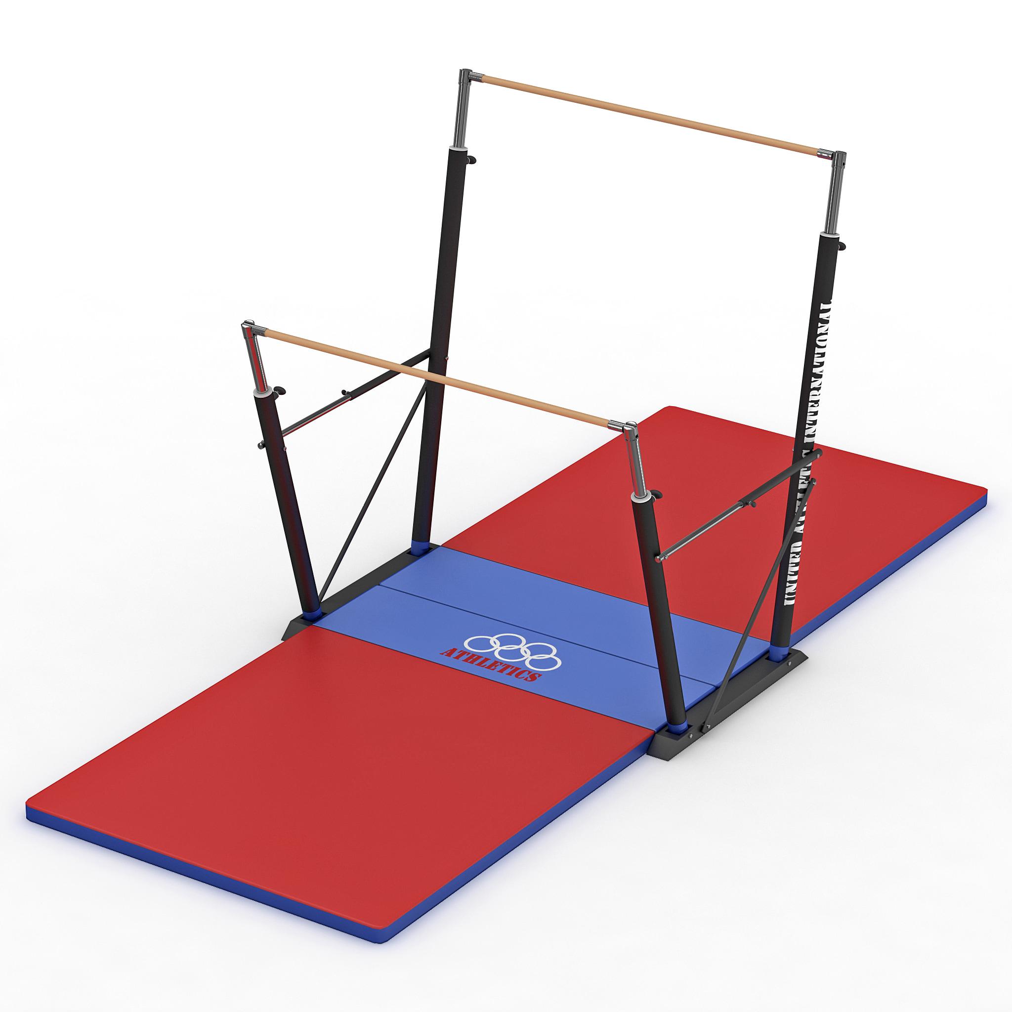 gymnastics uneven bars x