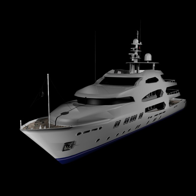 3d teuta 50m yacht luxury