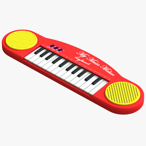 c4d electronics toy keyboard