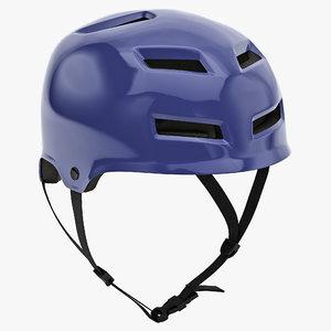 3d model bmx helmet