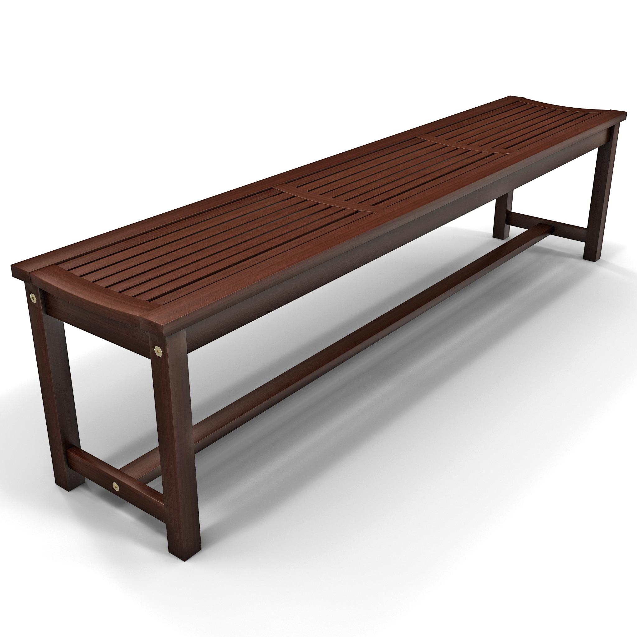3d model of strathwood blakely bench