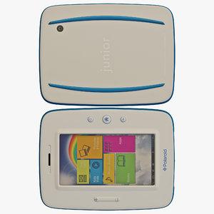 3d model kids polaroid tablet 2