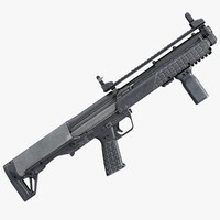 kel-tec ksg pump shotgun 3ds