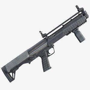 kel-tec ksg pump shotgun 3ds