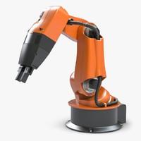 robot arm kuka 3d model