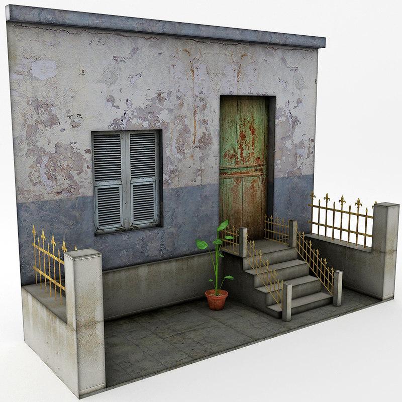 house games 3d model