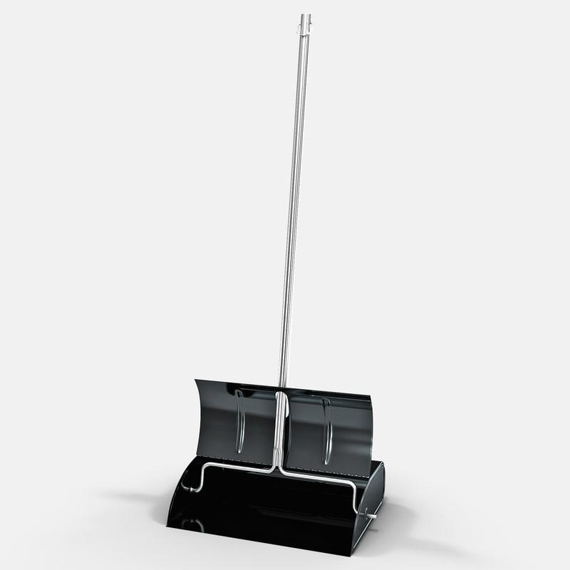 3d lobby dust pan