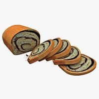 3d swirl bread