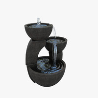 3d small fountain
