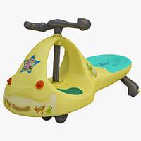 toy bike 3d model