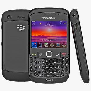 blackberry curve 8530 3d 3ds