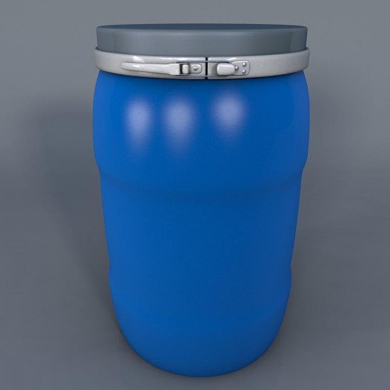 cinema4d water barrel