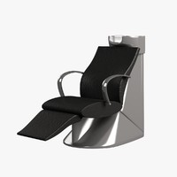 Hairdresser Chair 001