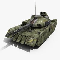 max sci-fi tank