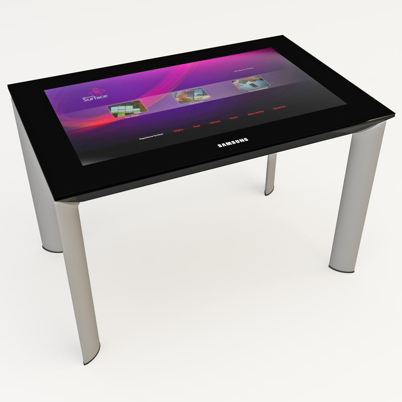 3d model microsoft surface 2
