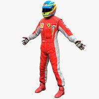 3dsmax racing driver ferrari