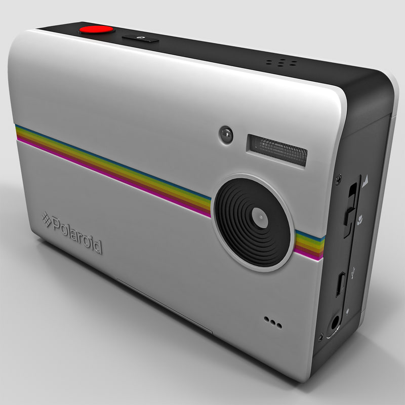 3d digital print camera polaroid