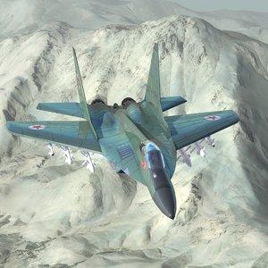 obj mig29c jet fighter
