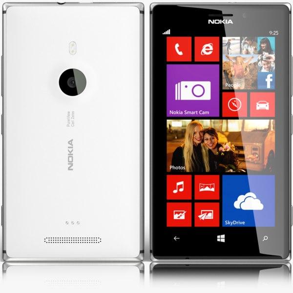 nokia lumia 925 3d max