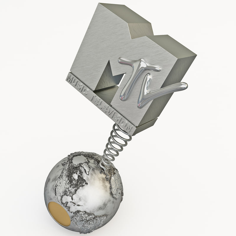 mtv awards 3d model