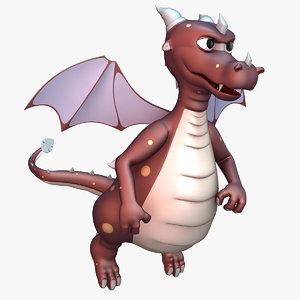 max draco dragon rigged