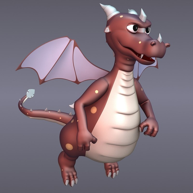 max draco dragon rigged