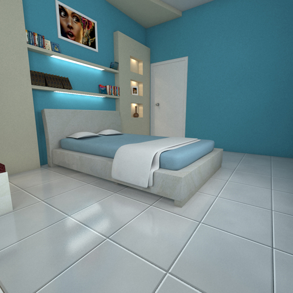3d model bed room
