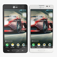 LG Optimus F7 Black and White