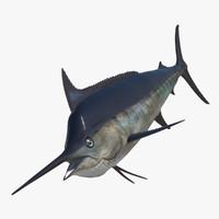 blue marlin obj